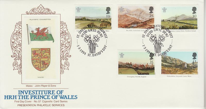 Investiture First Day Cover