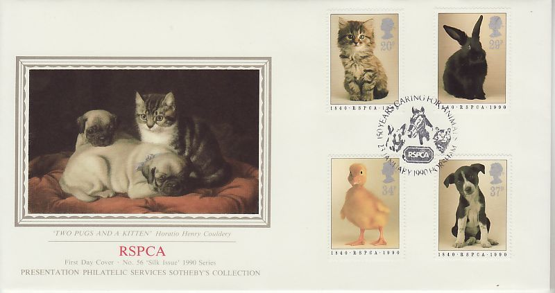 RSPCA First Day Cover