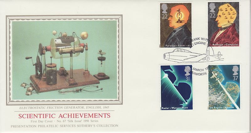 Scientific Achievements First Day Cover