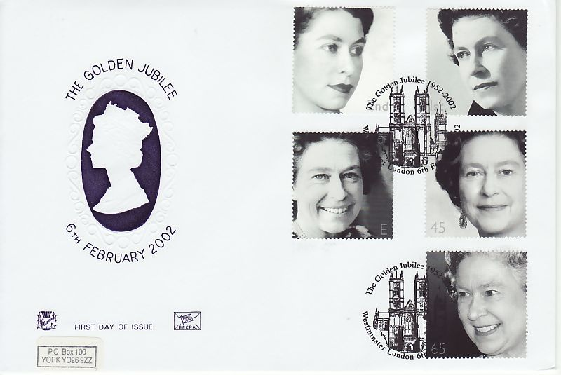 Golden Jubilee First Day Cover