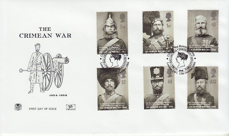 Crimean War First Day Cover