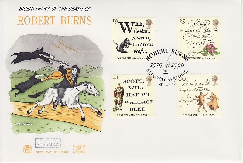 Robert Burns First Day Cover