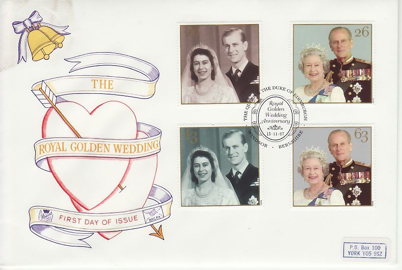 Golden Wedding First Day Cover
