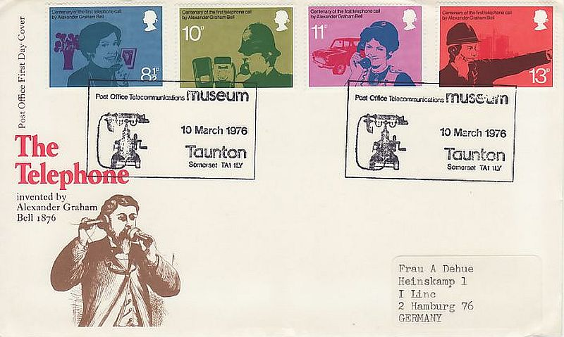 Telephone First Day Cover