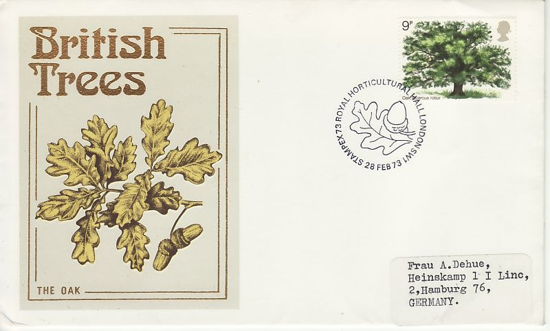 British Trees First Day Cover