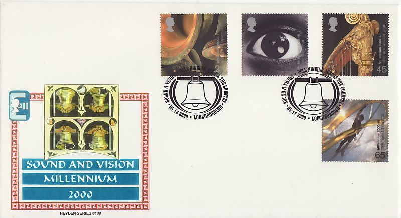 Sound and Vision First Day Cover