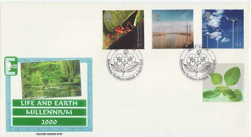 Life and Earth First Day Cover