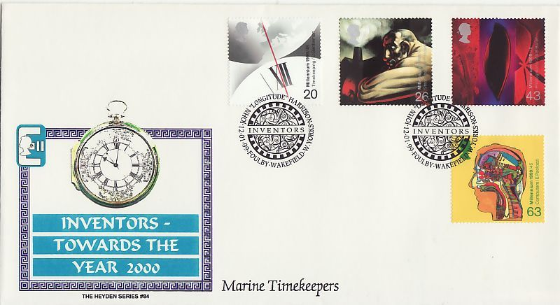 Inventors Tale First Day Cover
