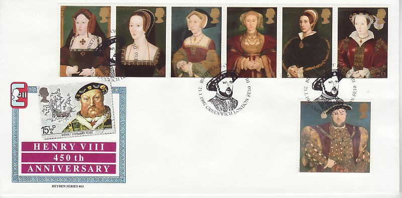 Henry VIII First Day Cover