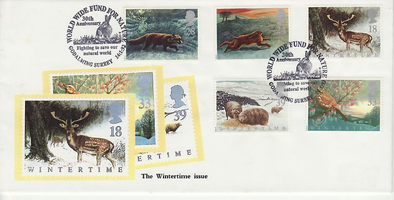 Wintertime First Day Cover