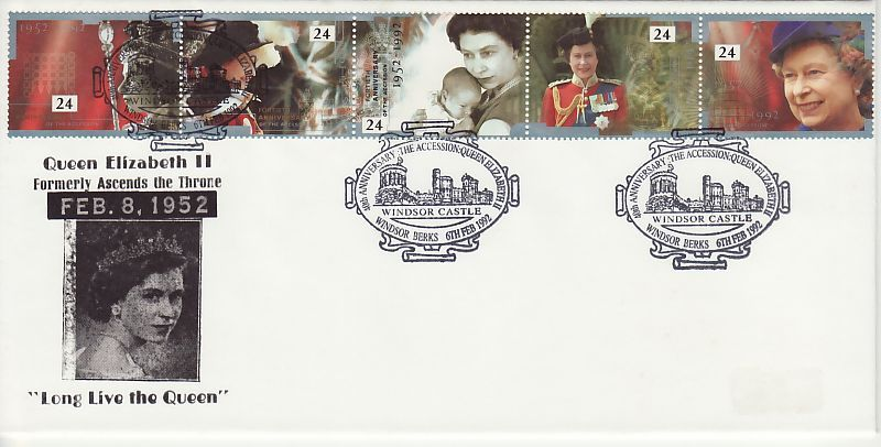 Accession First Day Cover