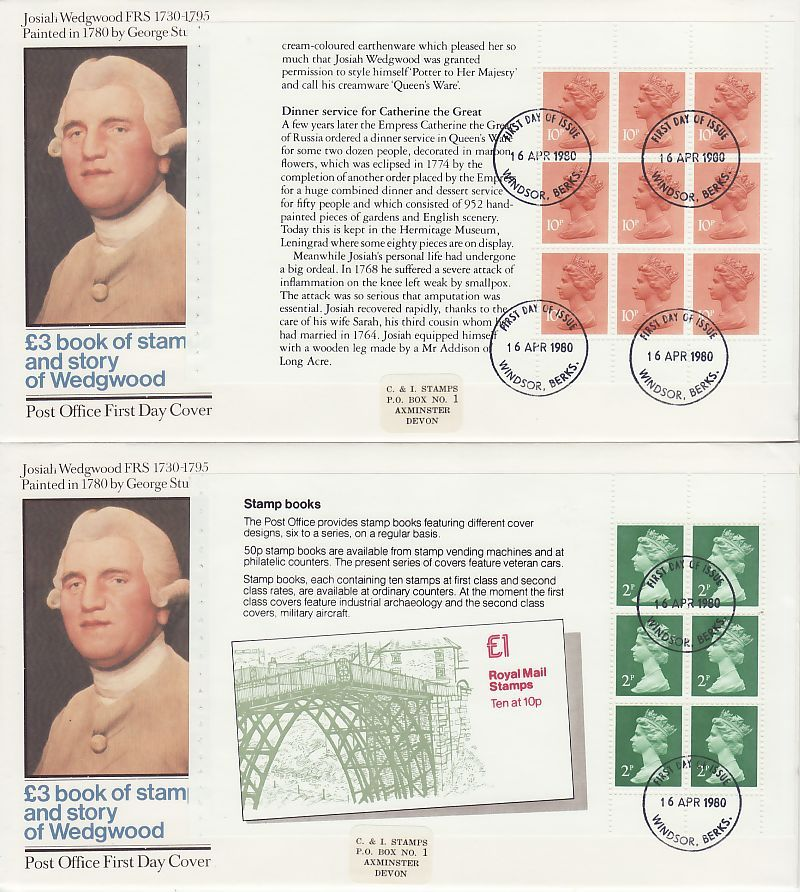 Definitive Booklet Stamps First Day Cover