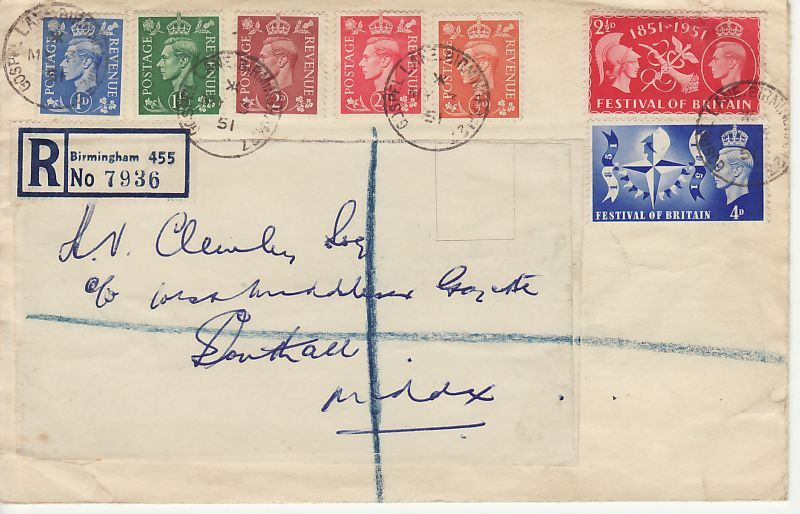 KGVI First Day Cover