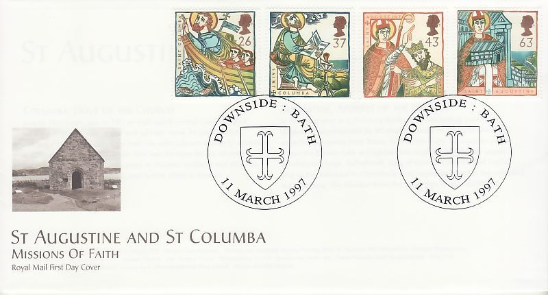 Missions of Faith First Day Cover