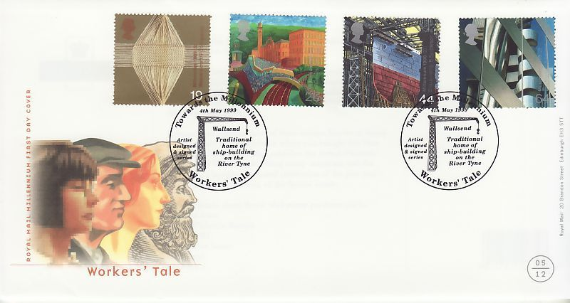Workers Tale First Day Cover