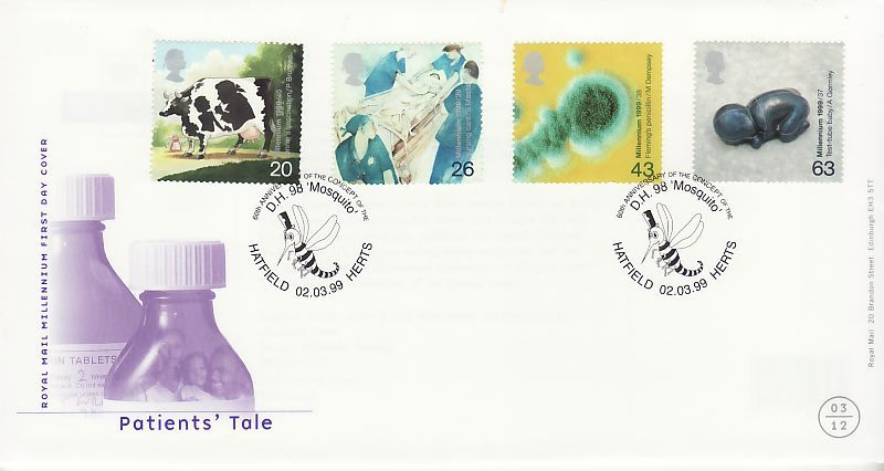 Patients Tale First Day Cover