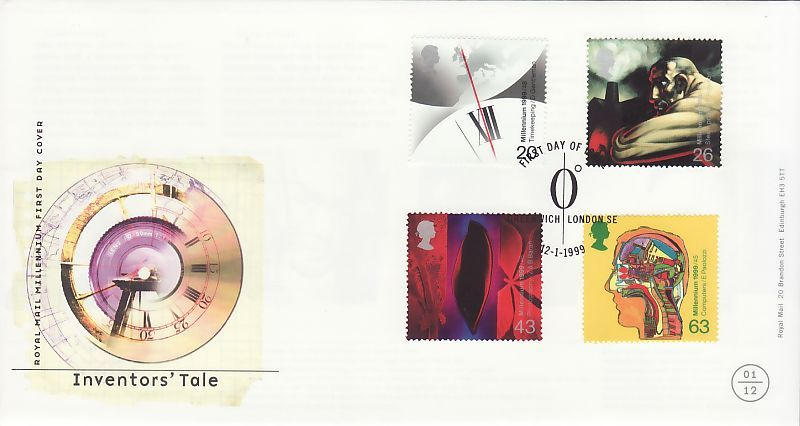 InventorsTale First Day Cover