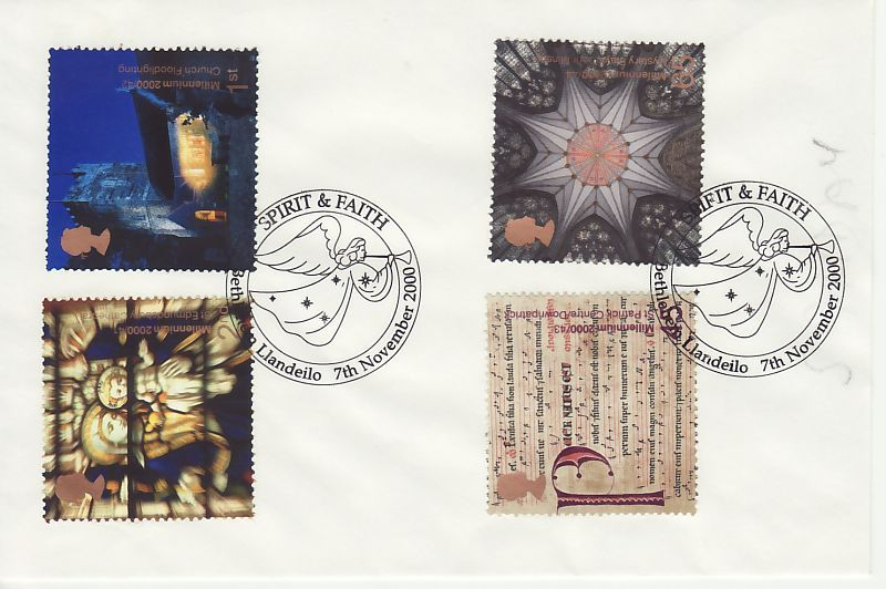 Spirit and Faith First Day Cover