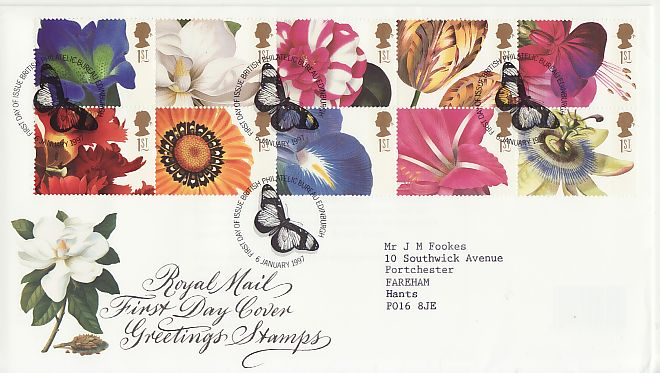 Greetings First Day Cover