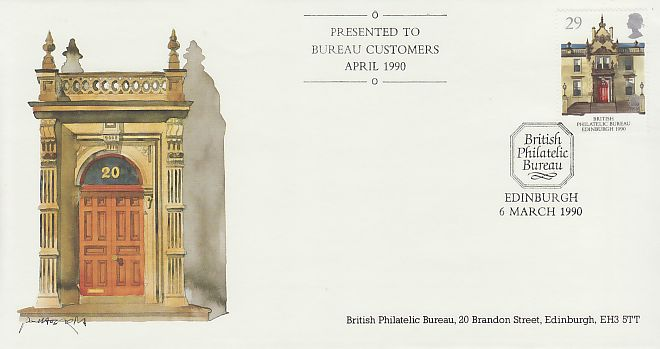 Bureau Edinburgh First Day Cover
