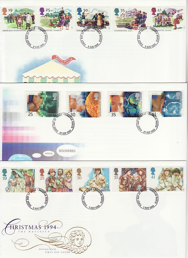 1994 First Day Covers