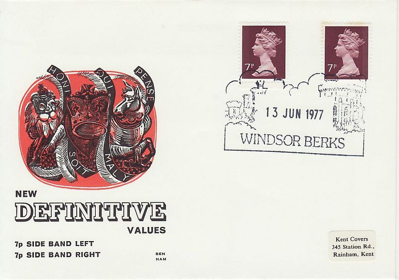Definitive Stamps First Day Cover