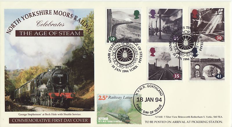 Railway First Day Cover