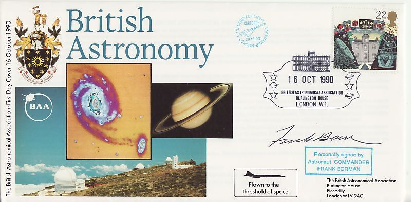 Astronomy First Day Cover