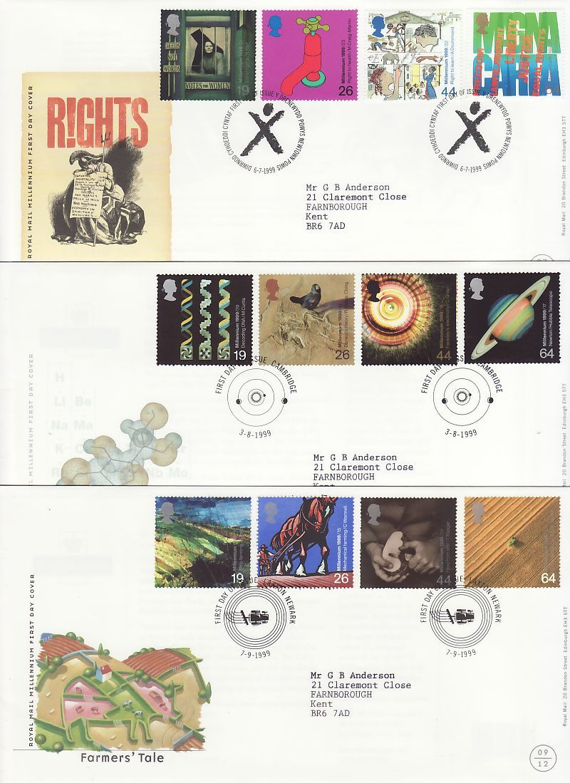 1999 First Day Cover