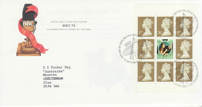 Booklet Definitive First Day Cover